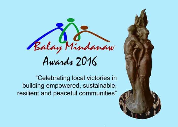 Balay Mindanaw Awards 2016