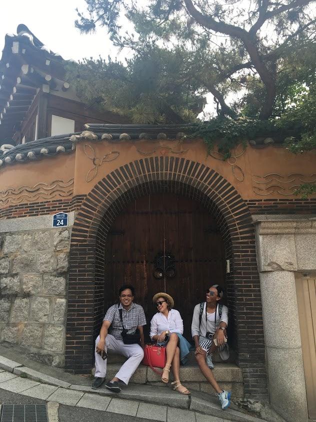 PRworks tour – a scene at Bukchon Hanok Village