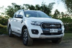 Journalists, bloggers drive new Ford Rangers