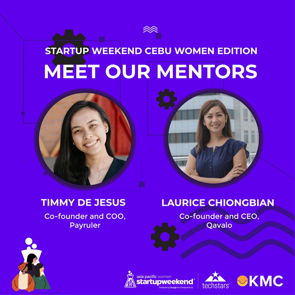 Startup Weekend Women Cebu mentors
