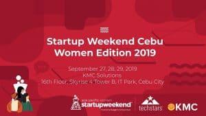 Startup Weekend Women Cebu