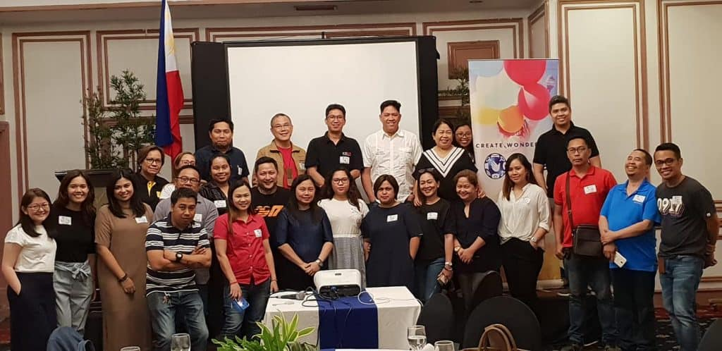 GMEA 2019 davao media rounds