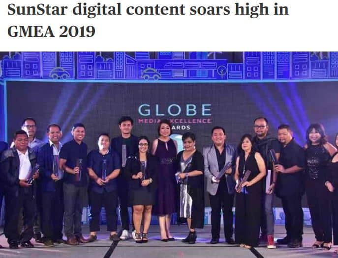 Media Awards Sun.Star Davao