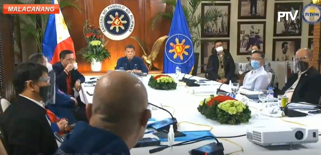 "Duterte orders ""most drastic measure"" v. those who delay cell tower permits"