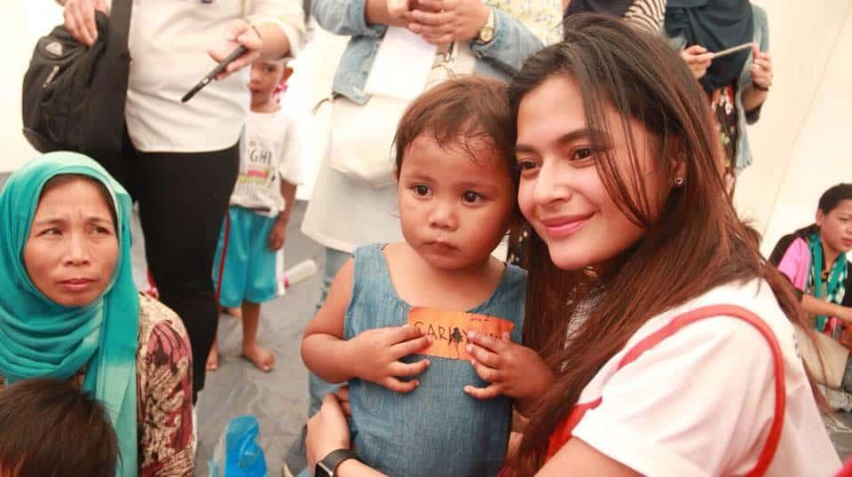 World Vision with Bianca Umali in Marawi
