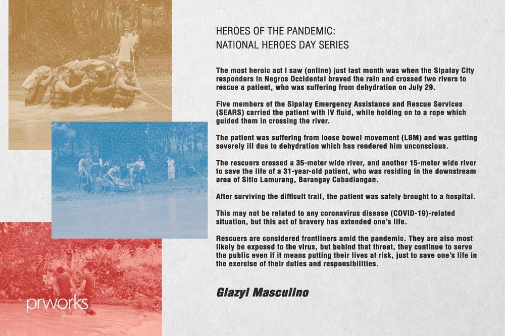 Masculino Pandemic Heroes