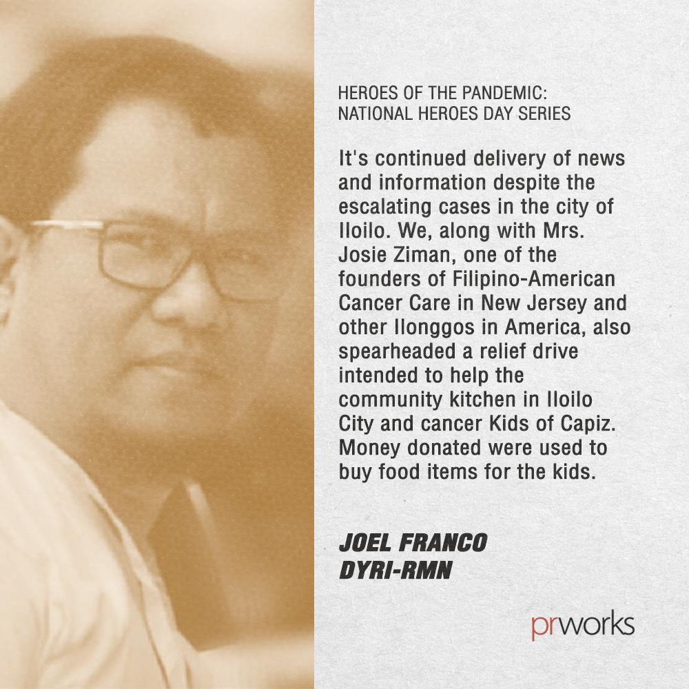 Joel Franco Heroes of Pandemic