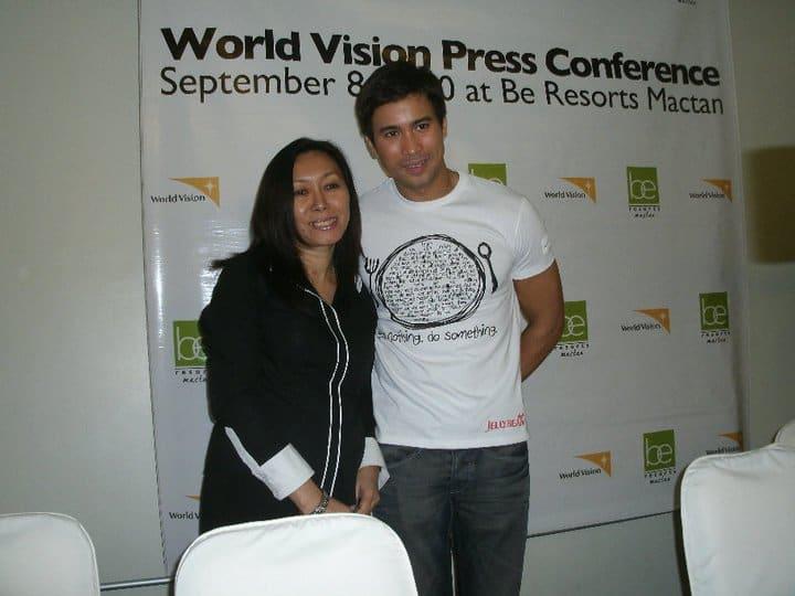 World Vision with Sam Milby and Doris Mongaya