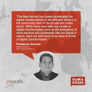 DICT Visayas director urges digital transformation